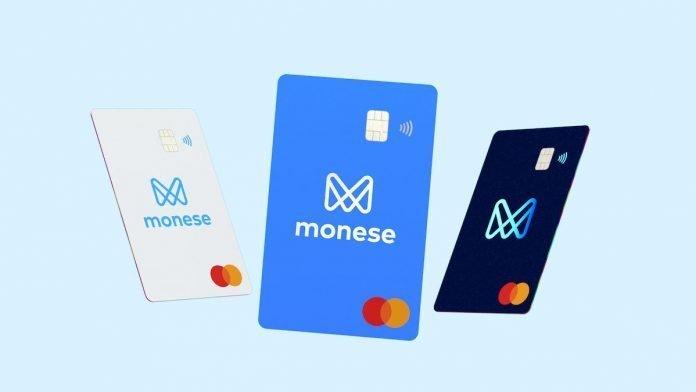 Monese κάρτα - Ελλάδα
